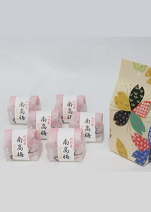 【澤口農園】静岡茶と紀州南高梅セット