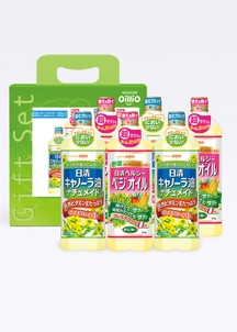 【日清】ヘルシーベジオイル&キャノーラ油ナチュメイドセット