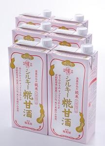 酒蔵仕込み 純米 シルキー糀甘酒 6本入りケース