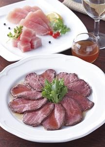 【札幌バルナバフーズ】北海道産ローストビーフ&しばれ生ハムセット