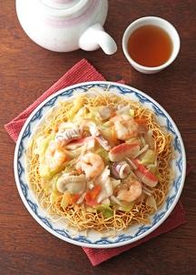 食彩長崎海鮮具入り皿うどん5食入