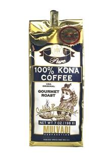【Mulvadi Corporation】100% コナコーヒー ホールビーンズ
