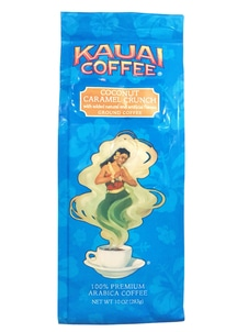 【Kauai Coffee Company】挽き豆  ココナッツキャラメルクランチ