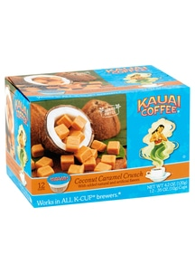 【Kauai Coffee Company】 Kカップ ココナッツキャラメルクランチ