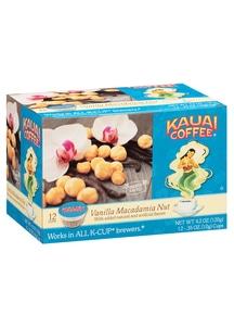 【Kauai Coffee Company】 Kカップ バニラマカダミアフレーバー
