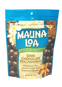 【Maunaloa】ダークチョコレート マカダミアズ