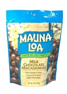 【Maunaloa】ミルクチョコレート マカダミアズ