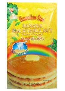 【Hawaiian Sun】パンケーキミックス バナナ マカダミアナッツ
