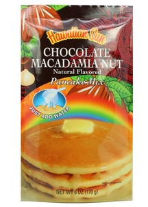 【Hawaiian Sun】パンケーキミックス チョコレート マカダミアナッツ