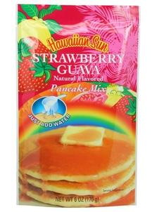 【Hawaiian Sun】パンケーキミックス ストロベリー グァバ