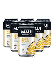 【Maui Brewing co.】ビキニブロンド ラガー 6本セット