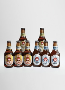【常陸野ネストビール】 ホワイトエール・セゾン・ラガー 330ml 8本セット
