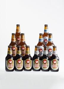 【常陸野ネストビール】 定番4種飲みくらべ 330ml 12本セット