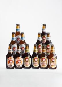 【常陸野ネストビール】 エールビール4種・ヴァイツェン飲みくらべ 330ml 12本セット