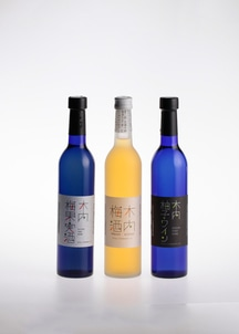 木内梅酒・柚子ワイン・梅果実酒(ワイン) 500ml3本セット