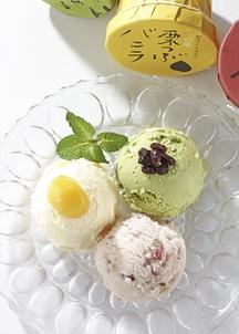餡ふぁん(小豆・抹茶・栗アイス)6個入
