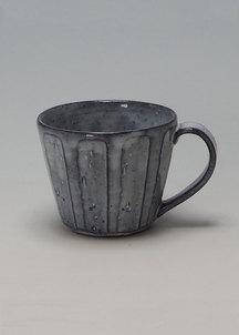 【萩焼】青釉  カフェオレカップ