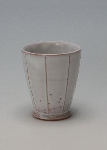 【萩焼】白釉 フリーカップ