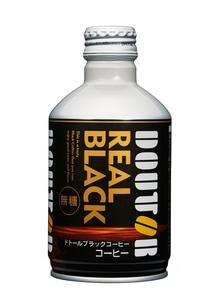ドトールコーヒー ブラックコーヒーレアル 260g×48本