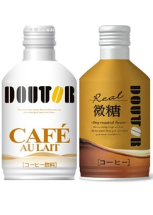ドトールコーヒー カフェオレ×レアル微糖 アソート 260g×48本