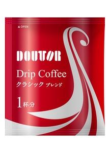 ドトールコーヒー クラシックブレンド 7g×100袋