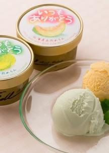北海道メロンアイスクリームセット合計10個 2種×5個