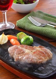 イベリコ屋豚肩ロースステーキ