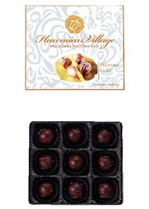 【訳あり】プレミアムマカダミアナッツチョコ9粒入り×4箱