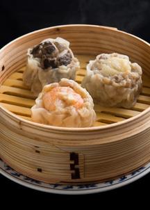 重慶黒豚大焼売3種セット(蝦仁・貝柱・冬茄)各2個入