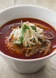 ユッケジャン辛温麺2食入×2袋