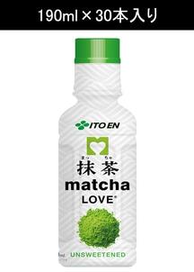 【伊藤園】抹茶ラブ無糖 190ml×30本