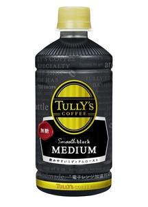 【TULLY'S】スムースブラックミディアム 500ml×24本入り