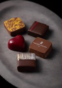 チョコレート ハート缶5P