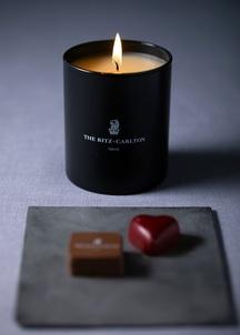 アロマキャンドル&チョコレートセット
