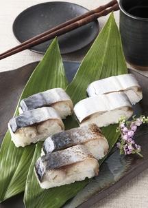 三陸浜寿司3本セット(さんま、さば、焼さば各1本入り)