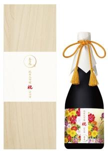 【敬老の日メッセージカード付】『玉乃光』純米大吟醸 祝100% 京の琴 720ml