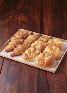 クロワッサン・クリームパン各5個入