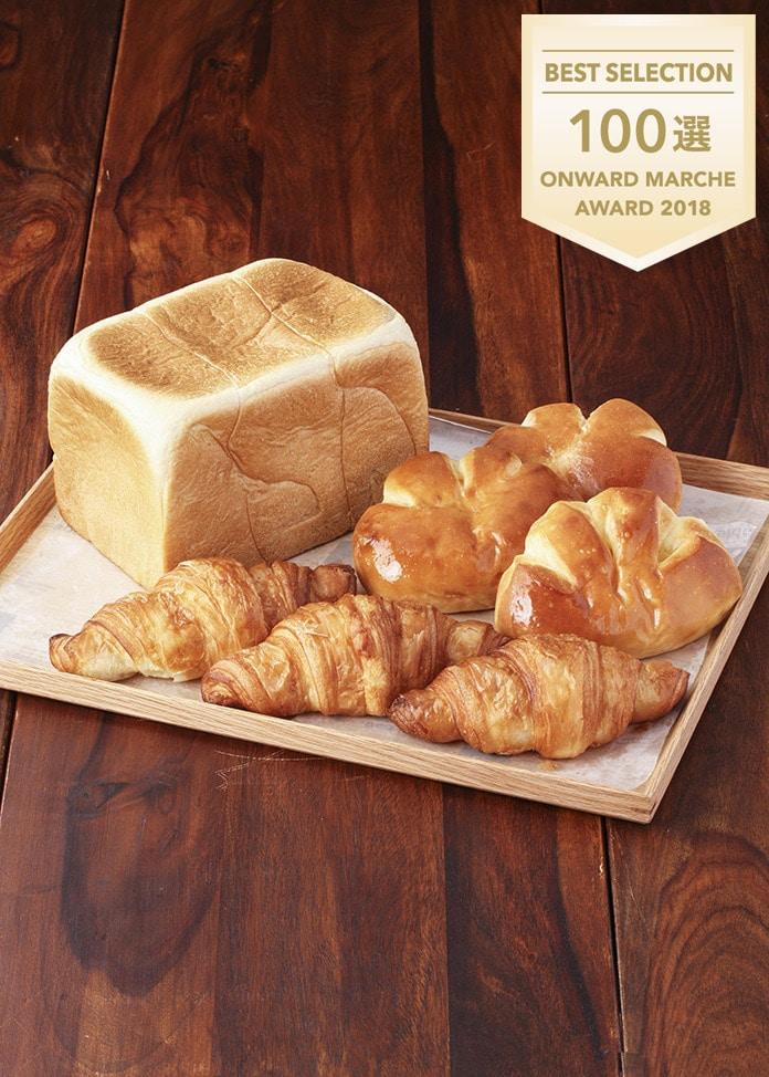 The Baker House Table ベーカーハウス食パン 1.5斤・クリームパン・クロワッサン各3個入