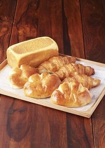 食パン黄金1斤・ クリームパン・クロワッサン各3個入