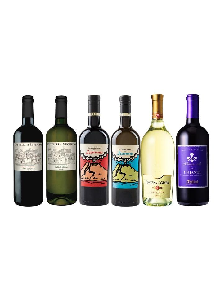 マルシェセレクト イタリア厳選お買い得ワイン6本セット