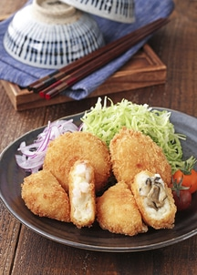 隠岐・海士の海鮮コロッケセット(いわがき・白いか各6個入り)