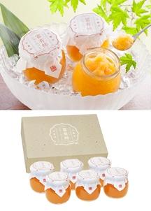 奈良吉野の富有柿シャーベット 6個入り