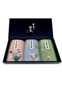 日本の伝承(静岡茶・宇治茶・知覧茶セット)