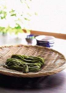 【浅草むぎとろ】 茶そばセット(12人前)