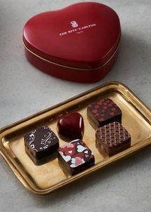 オリジナルチョコレート ハート缶