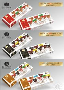 ベルギーチョコレート3種×各3箱入り 合計9箱入り