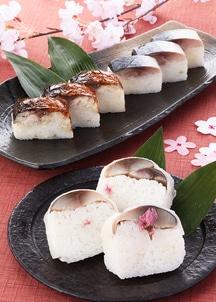 3種の鯖棒寿司食べ比べセット(桜)