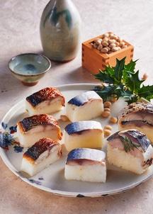 3種の鯖棒寿司食べ比べセット(梅)