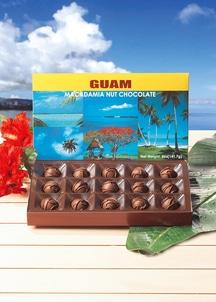 グアムマカダミアナッツ風景チョコ15粒×5箱入り