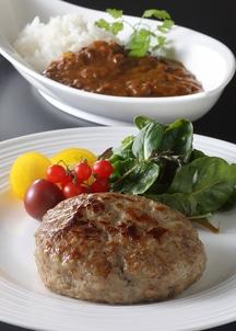 【限定特別価格】3種のハンバーグ(金格・白格・黒格各2個入り)&門崎熟成肉カレー(2人前)セット